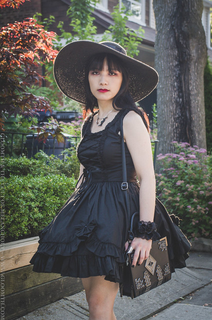 gothic lolita summer outfit