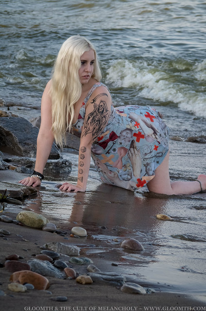 goth swimsuit