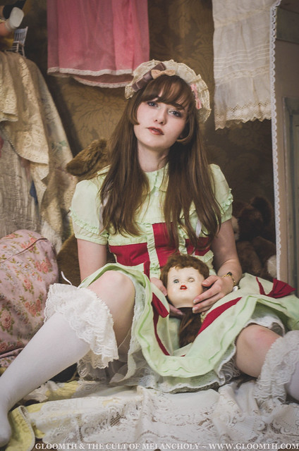 mint green lolita dress