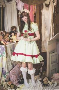 nurse lolita outfit