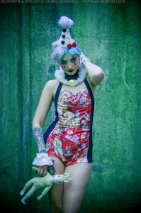 clown swimwear