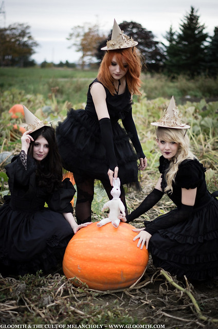 gothic pumpkin patch gloomth