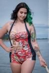 gothic swimwear plus size
