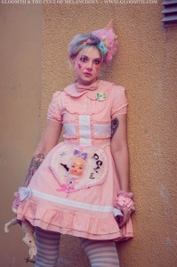 kawaii clown fashion