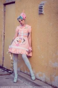 kawaii clownlita outfit