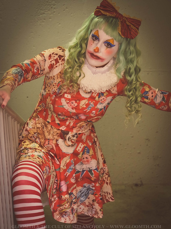 creepy clown makeup lovelylor