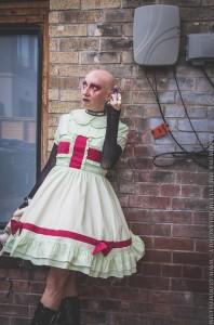 easy gothic nurse costume