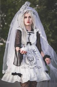 ghost bride halloween lolita