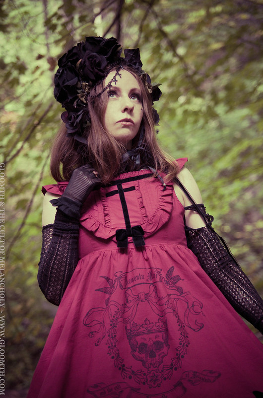 gothic doll girl