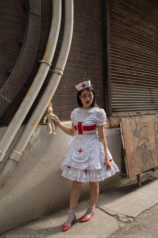 lolita nurse outfit