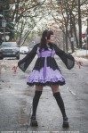 bell sleeved gothic lolita dress