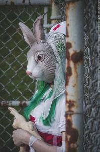 bunny mask creepy