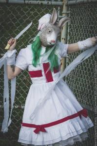bunny mask nurse
