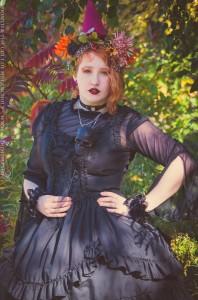 fall fashion lolita tea party dress