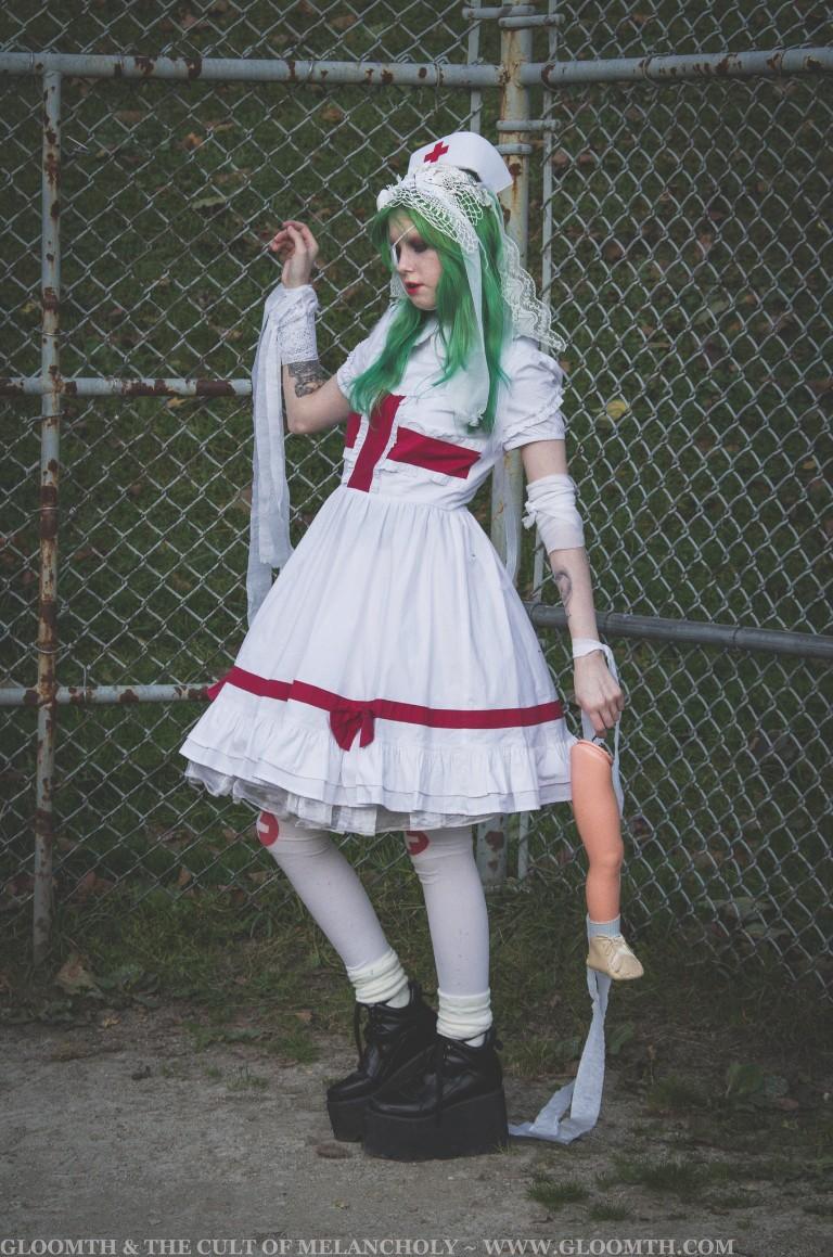 nurse lolita dress
