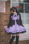 purple and black lolita
