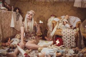 antique doll hospital editorial