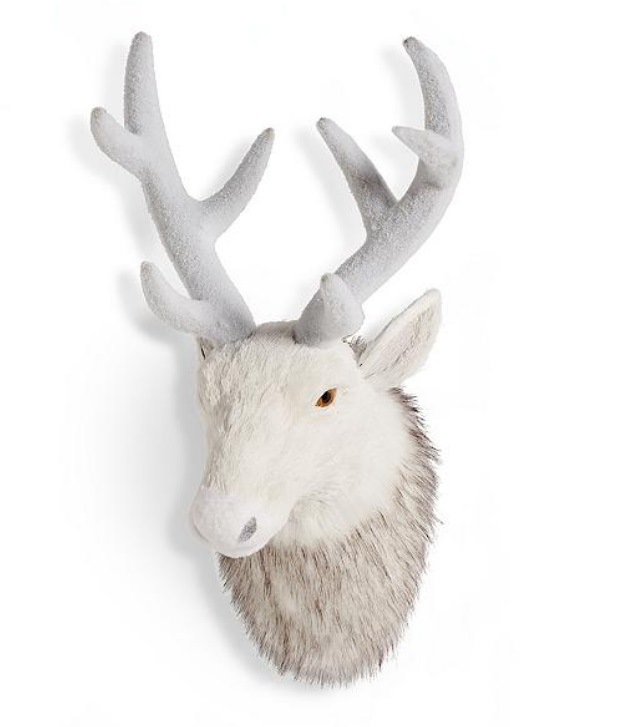 gothic christmas reindeer taxidermy
