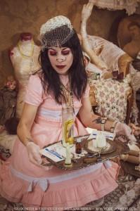 grunge nurse doll