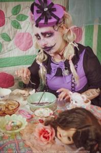 Creepy Kawaii Clown Girl