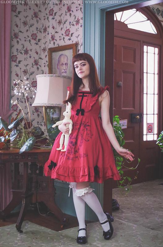 gothic lolita jumperskirt