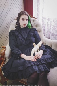 gothic victorian plus size dress