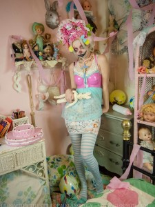 japanese street fashion clown