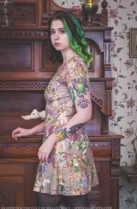 victorian grunge dress