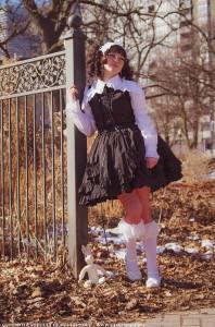 gloomth valance dress