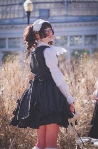 gothic lolita girl