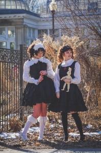 gothic lolita twins