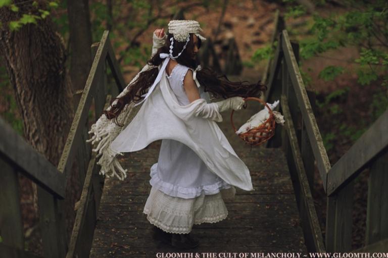 cottagecore girl