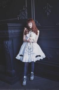 tombstone print dress