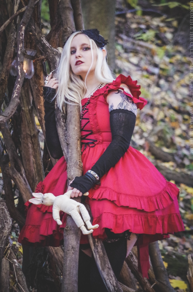 gothic witch photoshoot